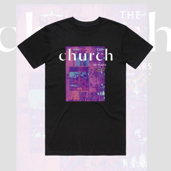 40th Anniversary v1 Black Tee  (The Church)