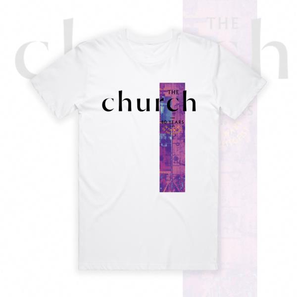 40th Anniversary v2 White Tee  (The Church)